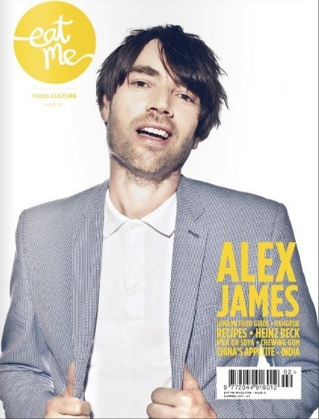 Alex James for Eat Me Mag cover