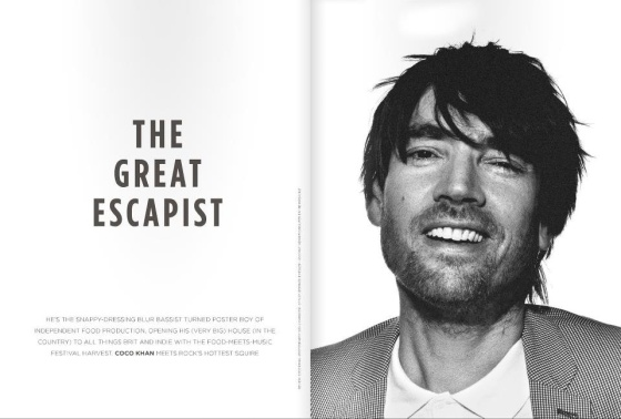 Alex James for Eat Me Mag