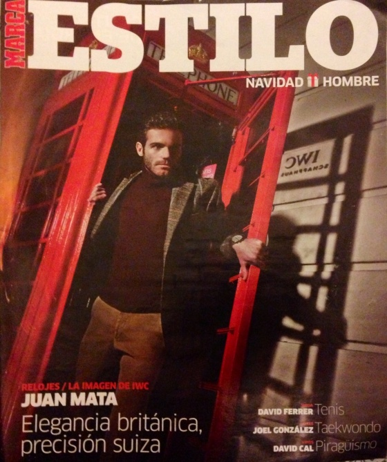 Juan Mata for MARCA magazine cover