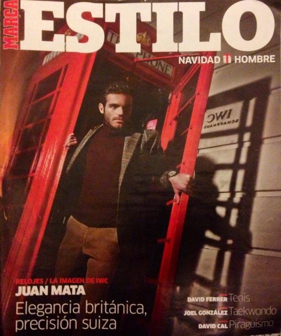Juan Mata for MARCA magazine cover
