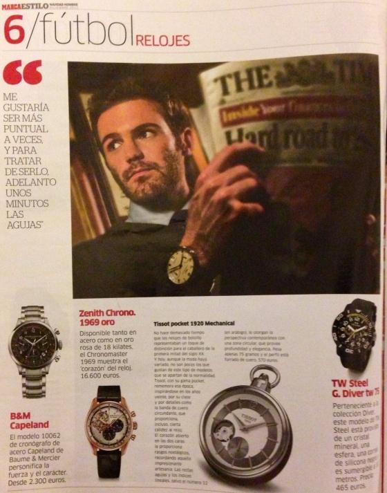 Juan Mata for MARCA mag